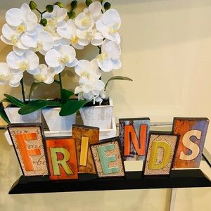 Friends wood sign home decor